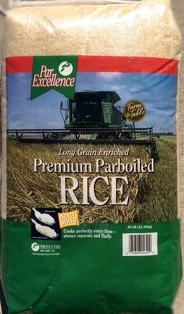 ParExcellence® Premium Parboiled Rice (25LBS) BAG